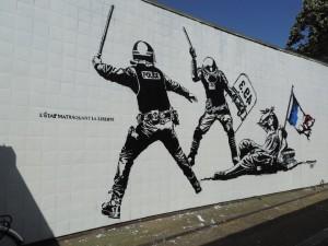 matraque VS liberté
