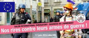 nos rires contre eurosatory